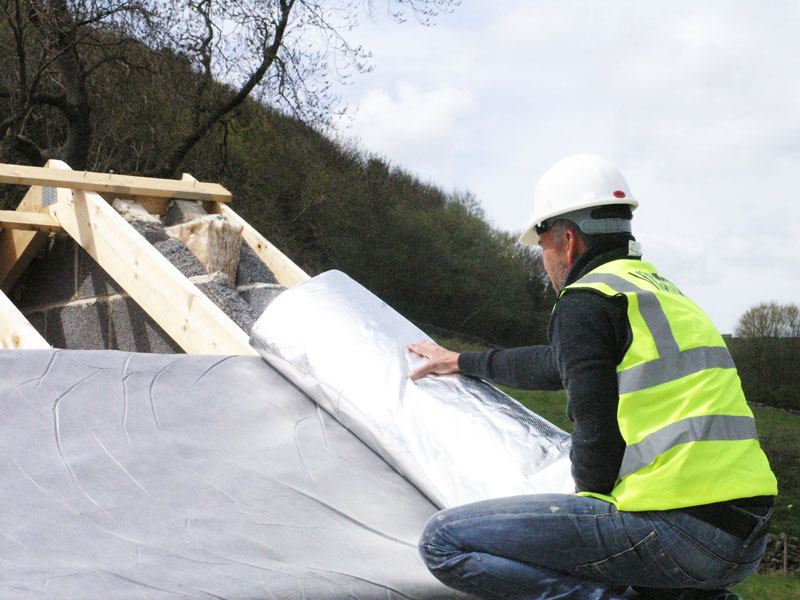 insulation pitched roof